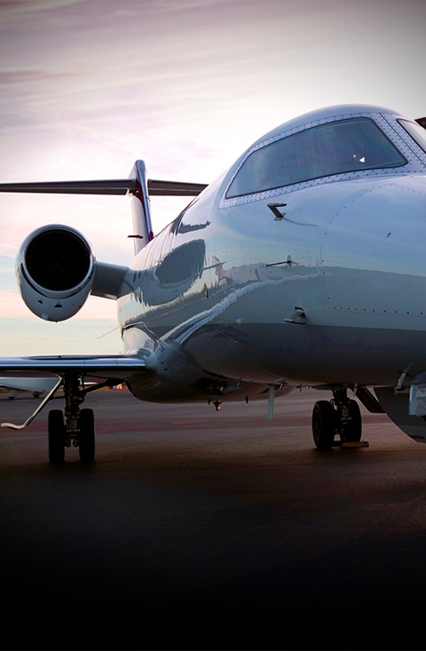 private airplane profile