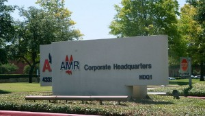 AMR Corporation, the parent company of American Airlines, filed for bankruptcy protection