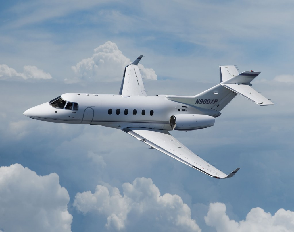 The Hawker 800 is an excellent mid-sized charter jet