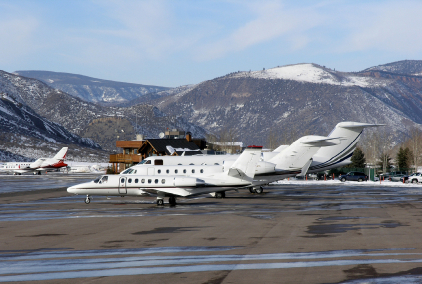 Private Jets at Aspen
