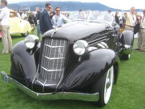 Concours d'Elegance Pebble Beach Auburn Speedster