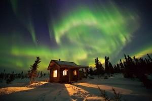 Charter Flight to Fairbanks Aurora Borealis
