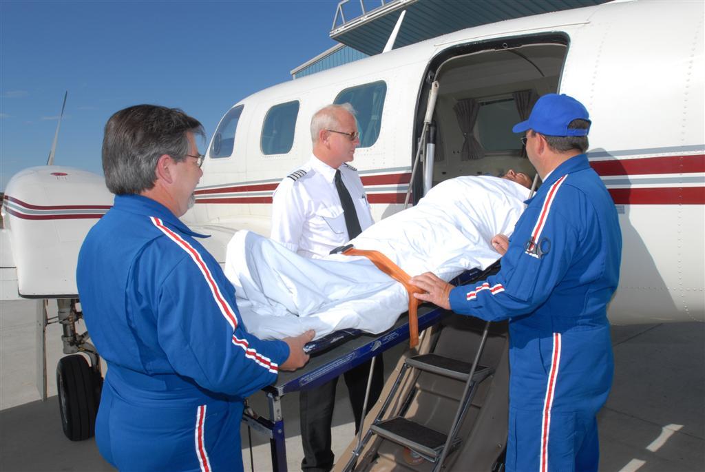 Emergency Jet Charter Flight
