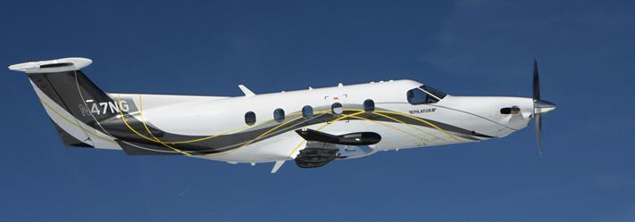 FAA Registered Private Charter Plane