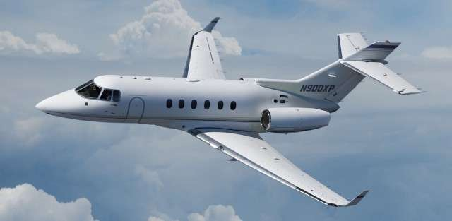 private flights on Hawker 800