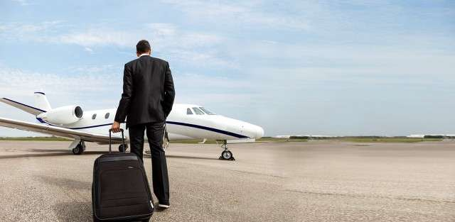 charter a jet for business trip