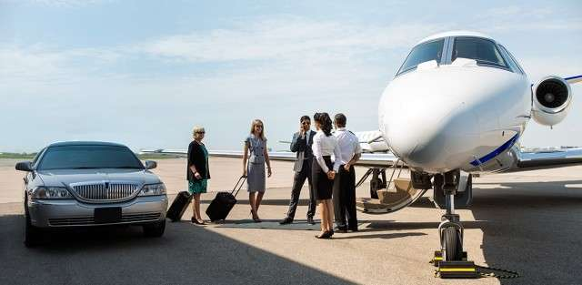 Charter Jets for business meetings