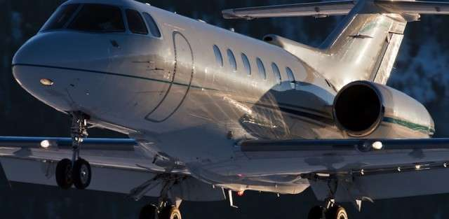 Charter a Hawker 900XP