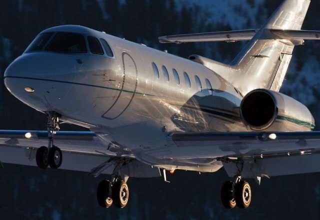Hawker 900XP Exterior