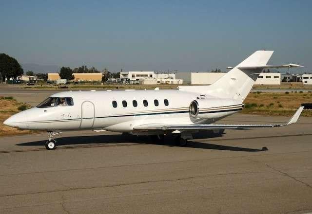 Book a private flight on a Hawker 850XP