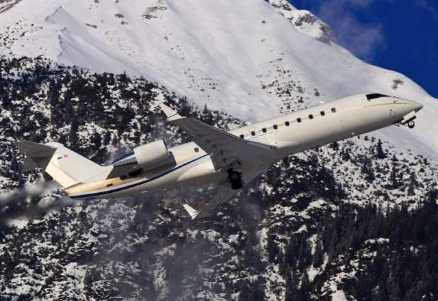 Aviation Charters on Challenger 850