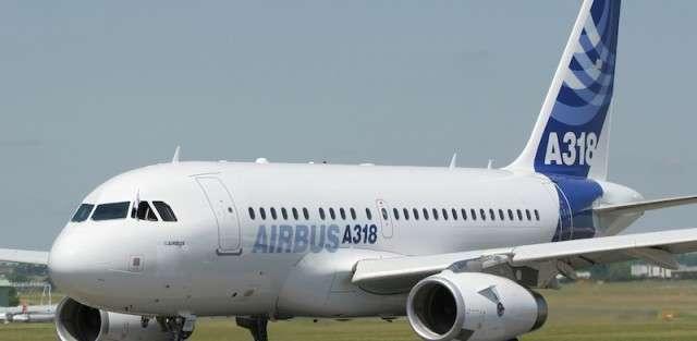 Airbus for 100 passengers