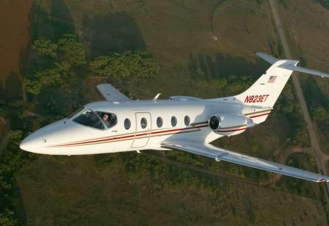 Charter a Hawker 400XP Private Jet