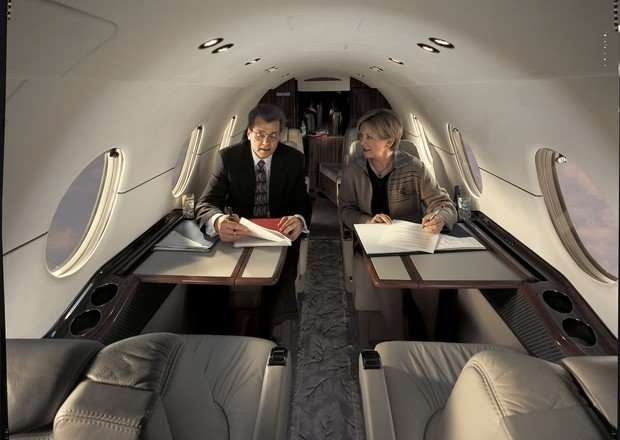 hawker 400XP_Interior