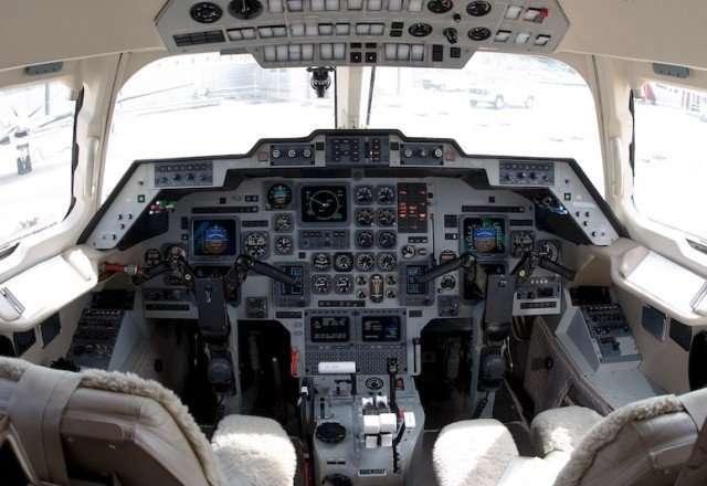 Hawker 1000 cabin