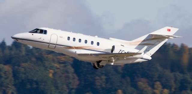 Hawker 850XP Jet Charter