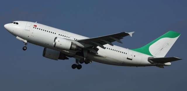 Airbus A310-300 charter flight