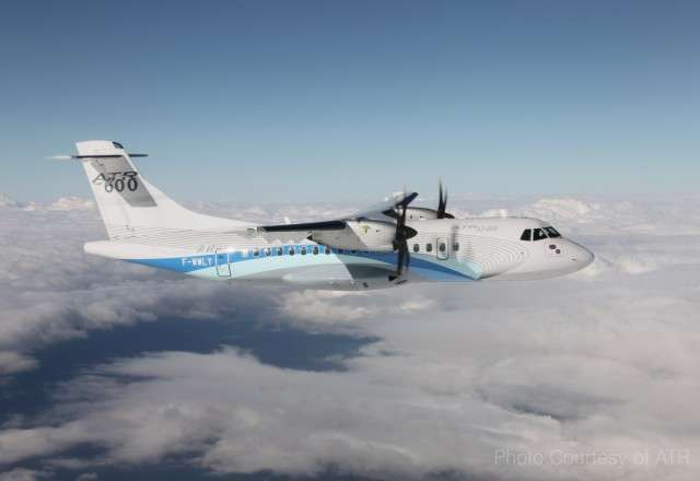 ATR 42 turboprop aircraft