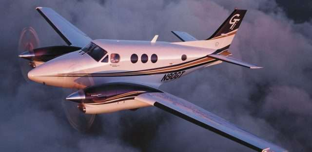 Private King Air 90GTI Flight