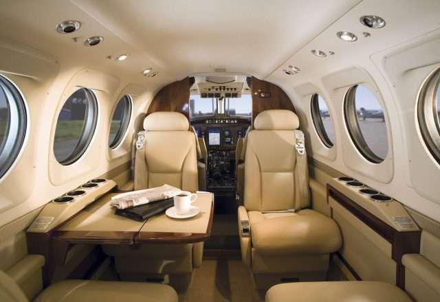 Private King Air 90 Charter Flight