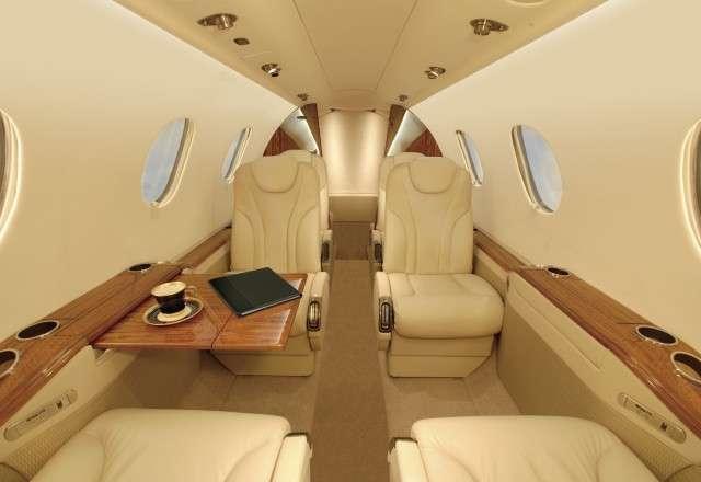 Beechcraft Premier IA Interior