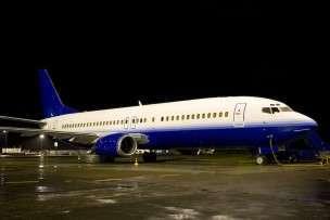 Commercial Jet Charter 737 180 passengers