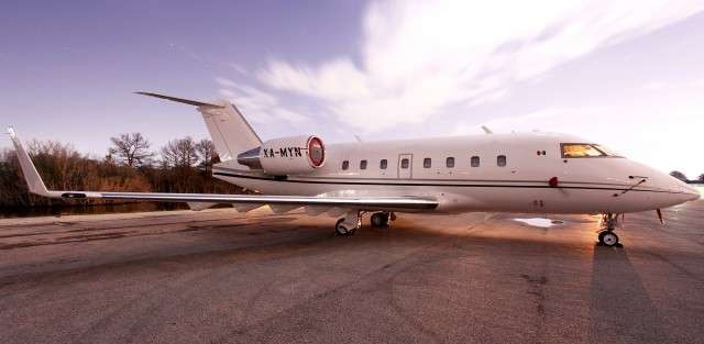 Challenger 601 Jet Charter