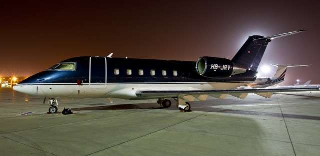 Private Jet Challenger 601