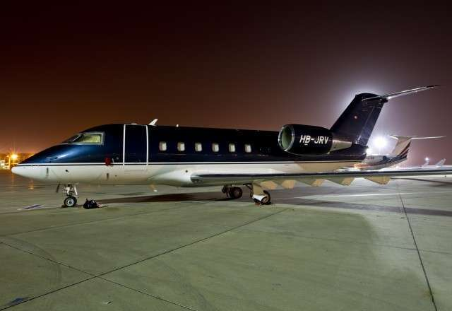 Business Jet Challenger 601