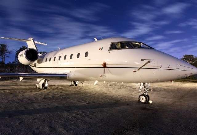 Jet Charter Challenger 601