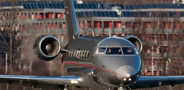 Jet charters on a Challenger 605