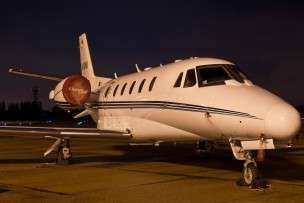 Jet Charter Citation Excel