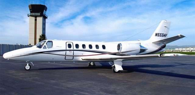 Citation S/II Private Jet
