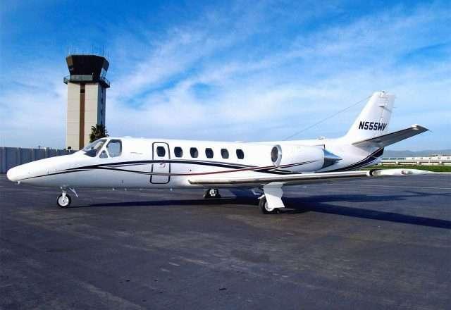 Citation S/II Private Jet