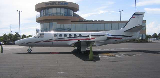 Citation S/II Charter Jet