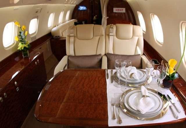 Interior Legacy 650 Luxury Jet