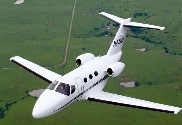 Mustang Jet charter Flights