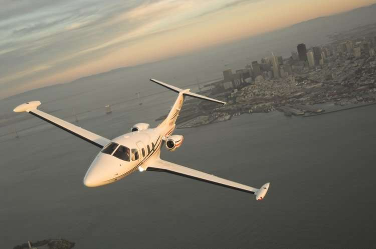 Eclipse 500 Private Charter Jet