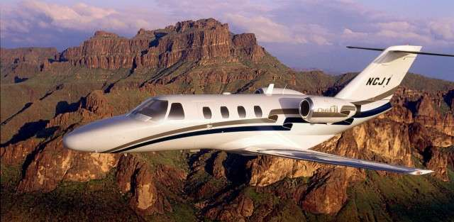 Citation 525 series jet charter