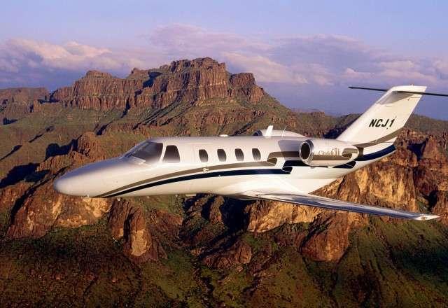 Citation 525 series jet charter