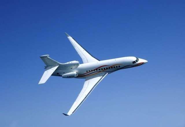 Falcon 7X Air Charter Flight