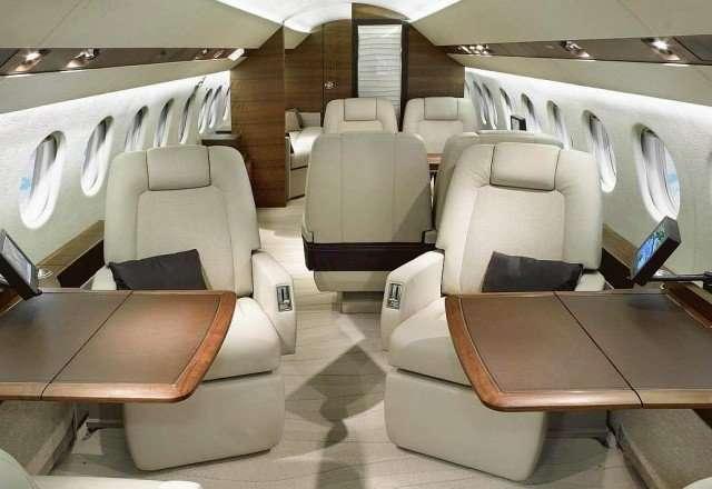 Flight Charters Falcon 900 Private