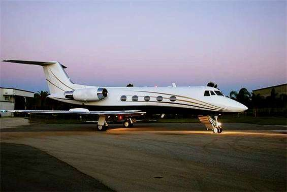 Charter Gulfstream GII Private Jet