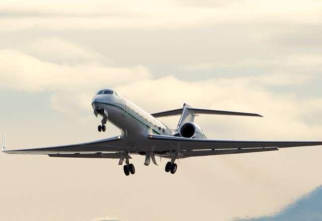 Gulfstream G550 charter flights