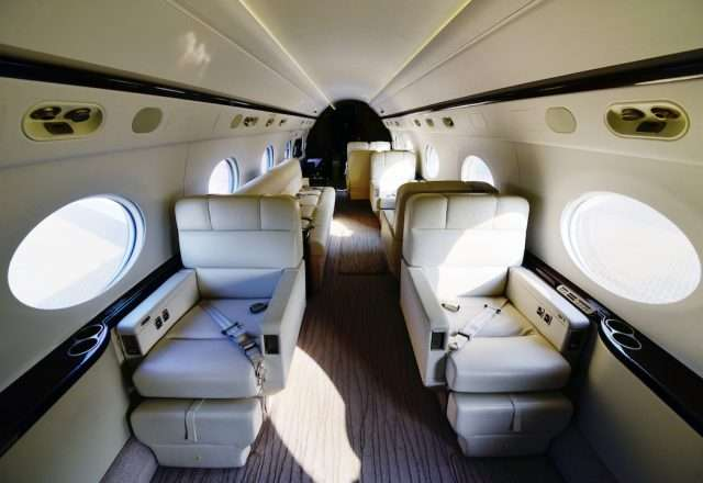 Gulfstream G550 Private Jet Charter