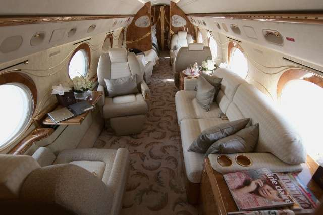 Book a Gulfstream GIVSP luxury jet charter