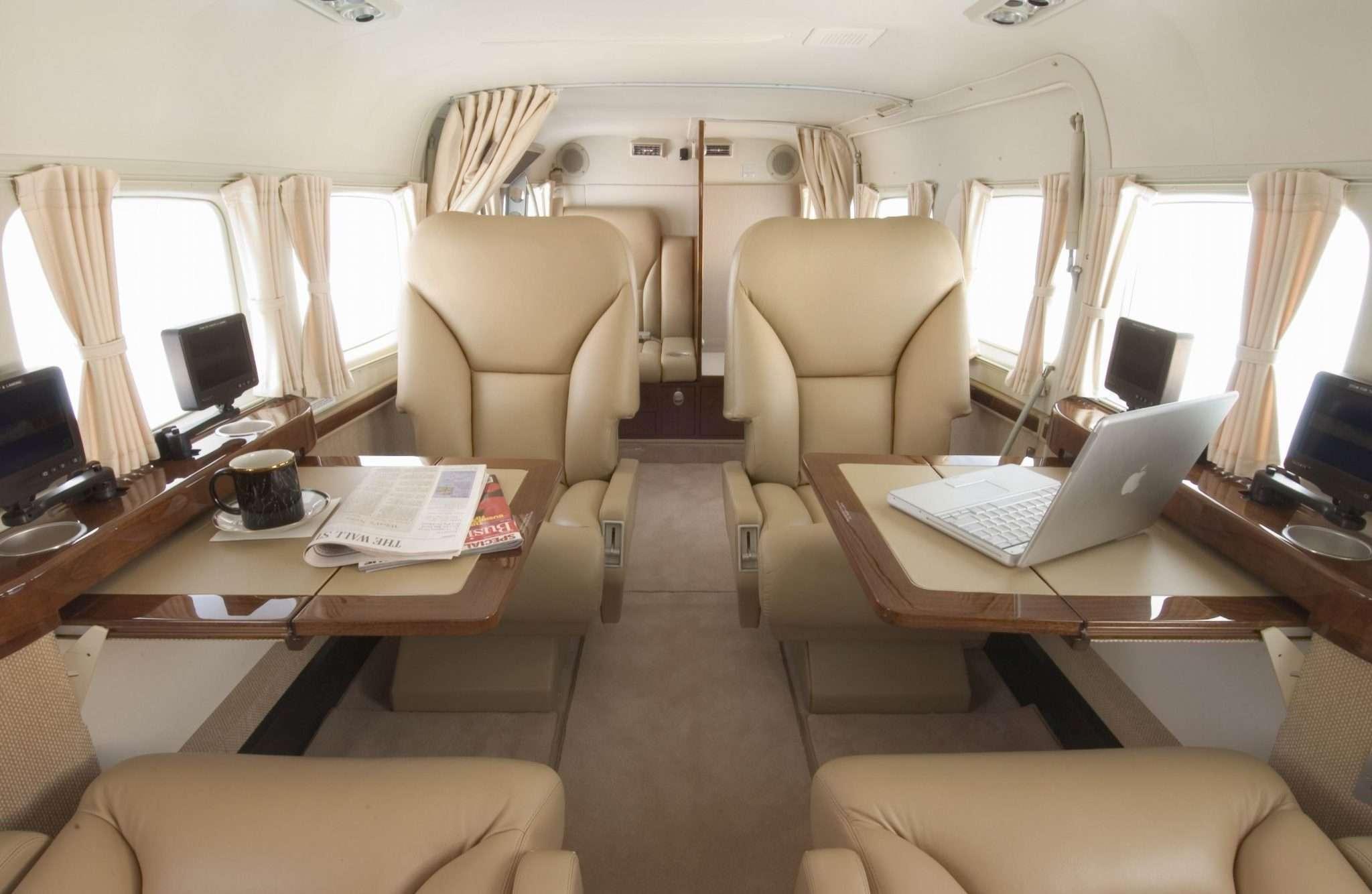 Interior Cessna Caravan