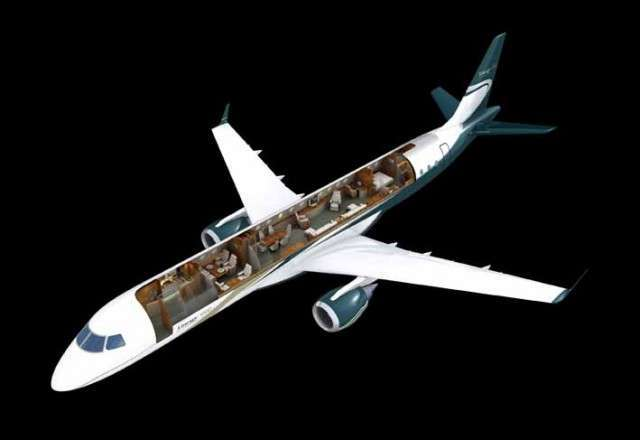 Charter jet Embraer Lineage