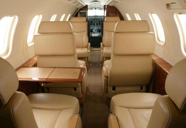 Interior LearJet 40