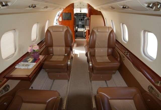 Lear60 Interior